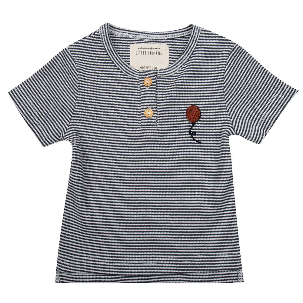 Sample Shirt Balloon - Small Stripe Rib