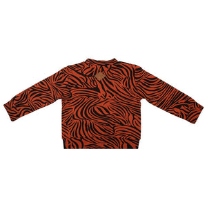 Sample Baseball Jacket Zebra - Picante