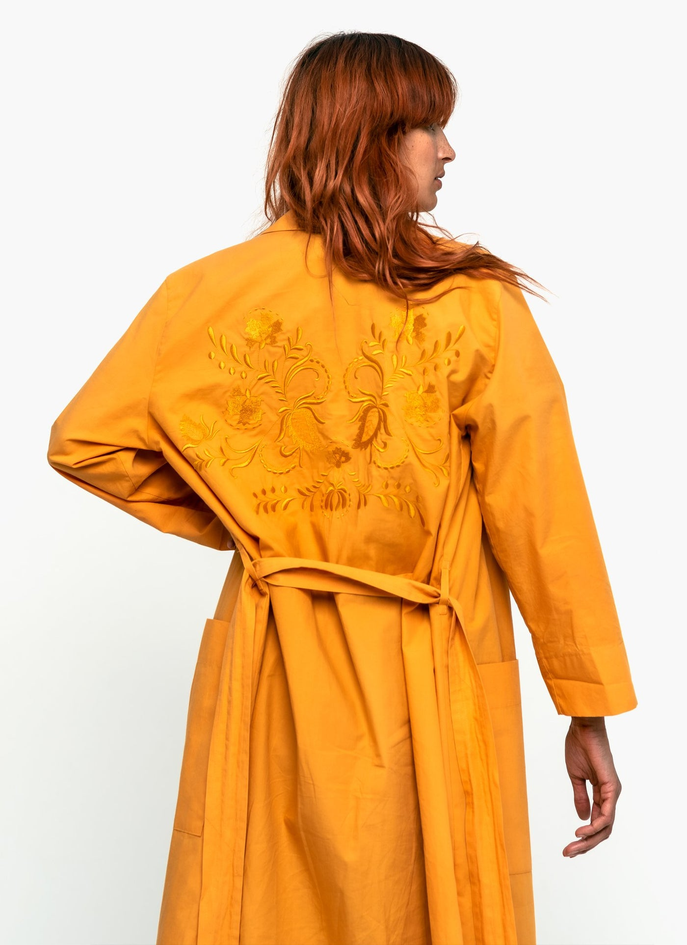 Reborn In Color Organic Cotton Robe