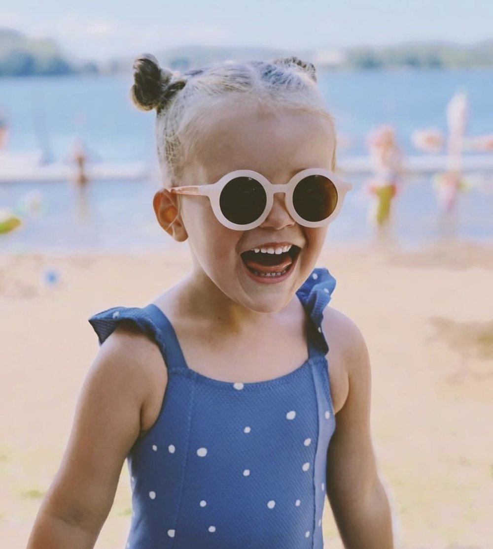 Kids Pink Sunglasses and Sustainable Fashion