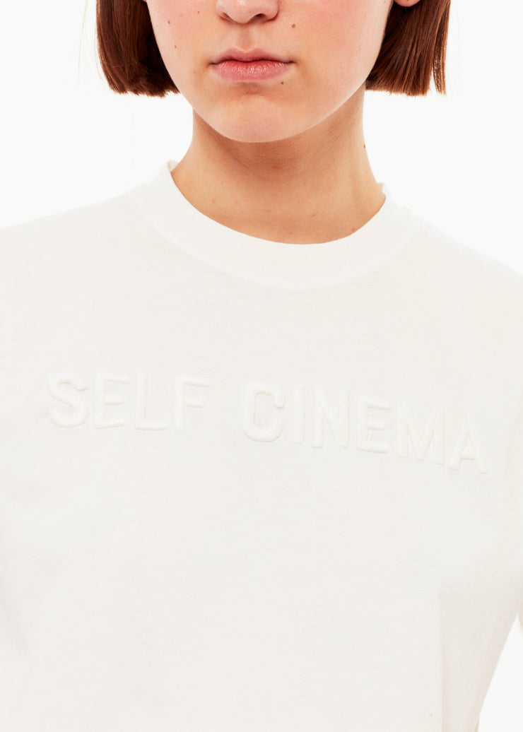 T-shirt Embroidered Off White - Rêve Ultime