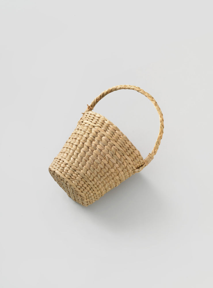 Mini Straw Bag - Round Multicolour - Rêve Ultime