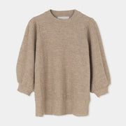 Anina Knit Blouse - Light Camel - Rêve Ultime