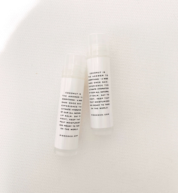 Organic Coco Lip Balm Duo Pack - Rêve Ultime