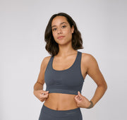 SilverTech™ Active Workout Bra -  Black - Rêve Ultime