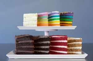 BEST SELLER'S CAKE SLICE SAMPLER - 8 SLICES -  SHIPPING INCLUDED*