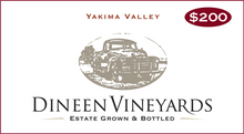 Load image into Gallery viewer, Dineen Vineyards Gift Card