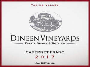 Dineen Vineyards Cabernet Franc 2017