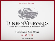 Load image into Gallery viewer, Dineen Vineyards Heritage Blend 2015