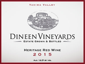 Dineen Vineyards Heritage Blend 2015