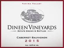 Load image into Gallery viewer, Dineen Vineyards Cabernet Sauvignon 2015