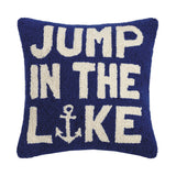 Jump in the Lake Pillow