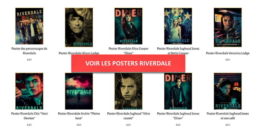 Collection Posters Riverdale