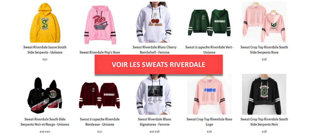 Collection Sweats Riverdale