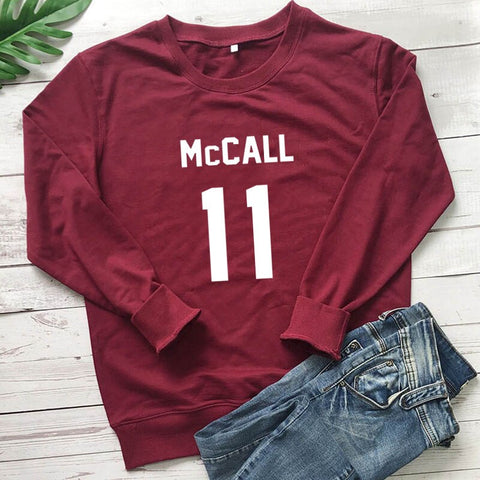 Pull Teen Wolf McCall 11 Bordeaux