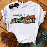 T-Shirt Riverdale Cartoon