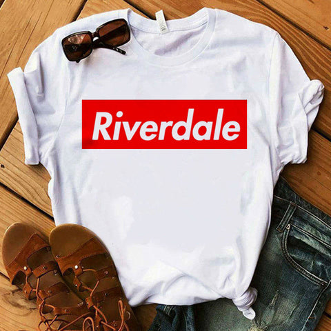 T-Shirt Riverdale Bandeau rouge