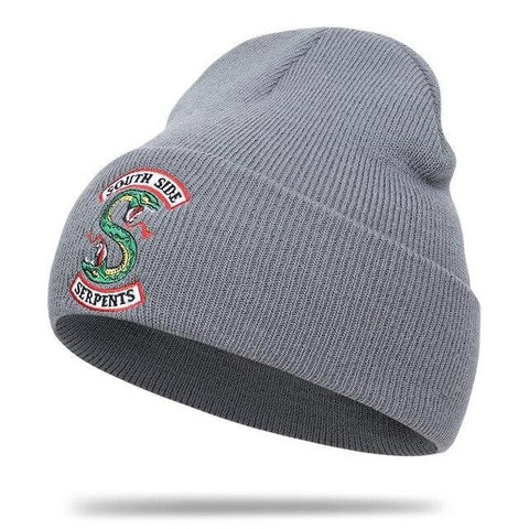 Bonnet Gris de Riverdale Serpent