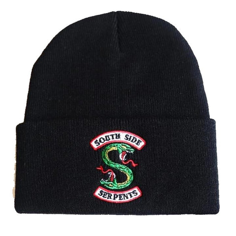 Bonnet Riverdale South Side Serpents - Noir