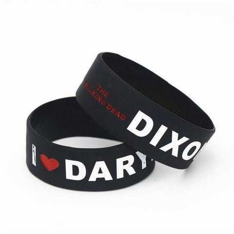 Bracelet The Walking Dead Noir Daryl Dixon