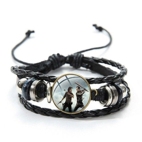 Bracelet The Walking Dead Rick vs Negan