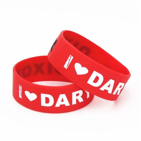 Bracelet The Walking Dead Rouge Daryl Dixon