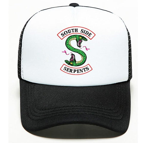 Casquette Riverdale Blanche South Side Serpents