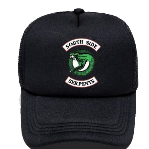 Casquette Riverdale Noire South Side Serpents
