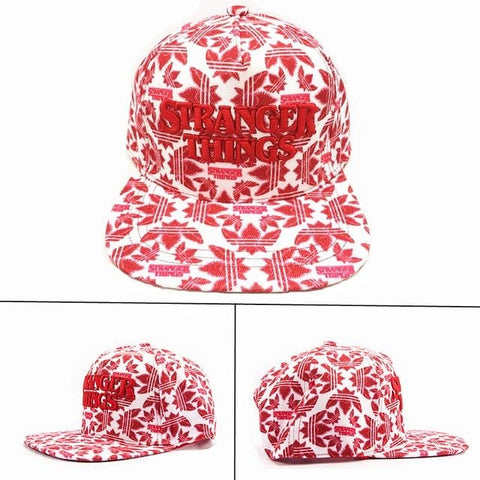 Casquette Stranger Things Rouge et Blanche
