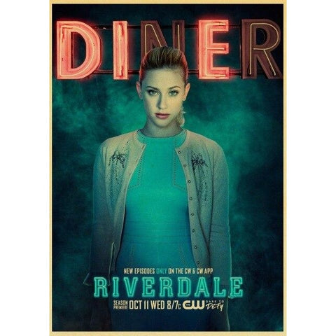 Poster Riverdale Betty Cooper Diner - 42x30 cm