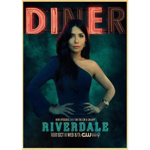Poster Riverdale Hermione Lodge Diner - 42x30 cm