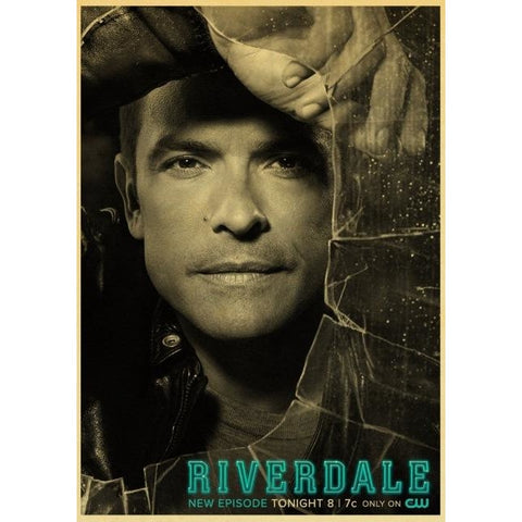 Poster Riverdale Hiram Lodge - 42x30 cm