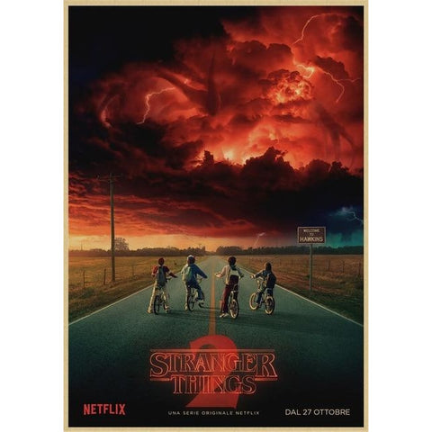 Poster Stranger Things Flagelleur mental - 30X21cm