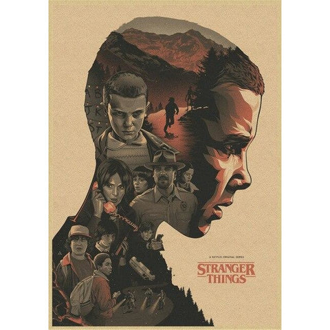 Poster Stranger Things Onze Eleven
