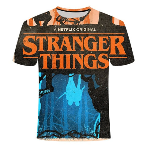 T-Shirt Stranger Things Upside Down - Unisexe