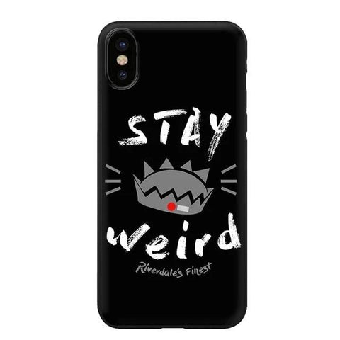 Coque iPhone Riverdale Stay Weird - iPhone XS