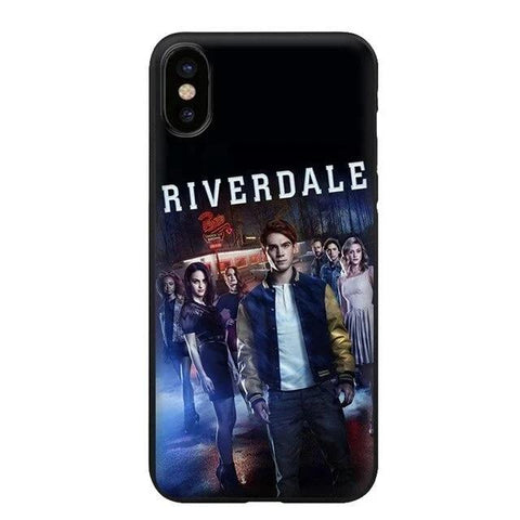 Coque iPhone Riverdale Personnages - iPhone 7 Plus