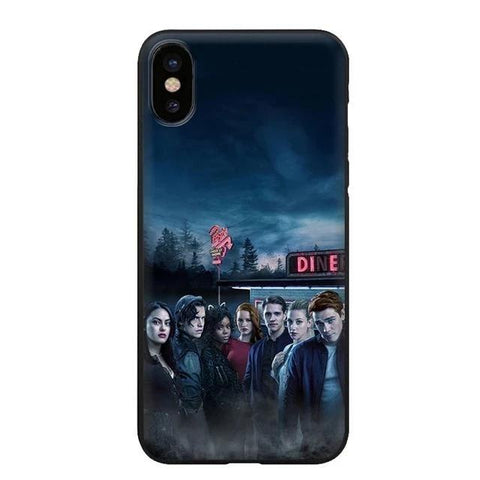 Coque iPhone Riverdale Affiche Personnages
