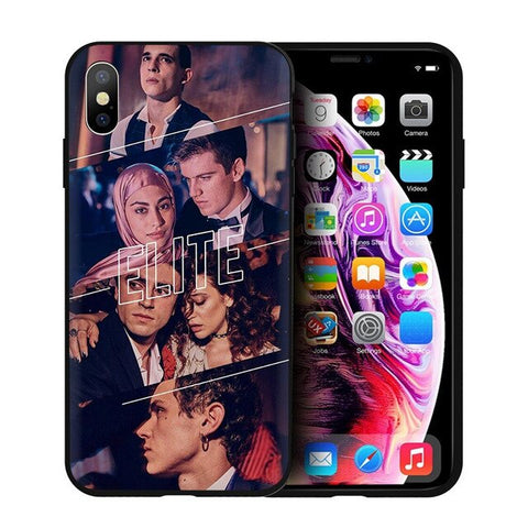 Coque Elite iPhone Personnages