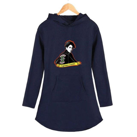 Robe sweat à capuche Riverdale Jughead Jones - Femme