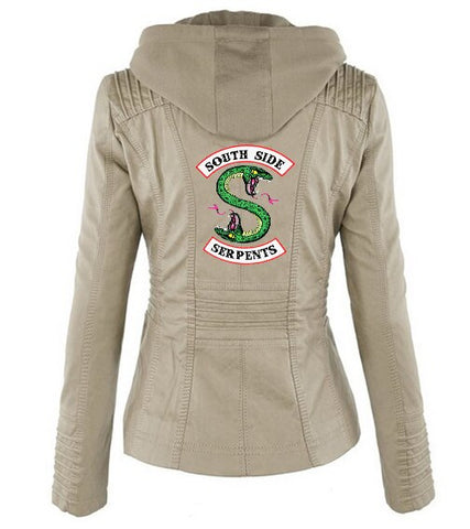 Veste à capuche Grise Riverdale South Side Serpents - Femme - XXL