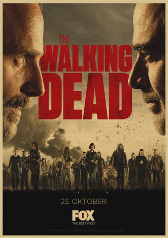 Poster The Walking Dead Negan vs Rick