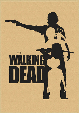 Poster The Walking Dead Dessin