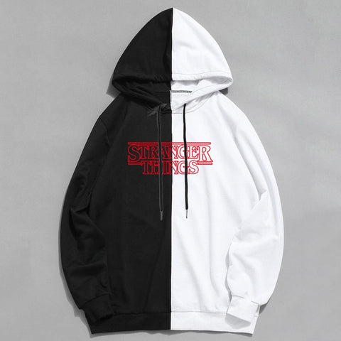 Sweat Stranger Things Noir & Blanc - 1black / XXL