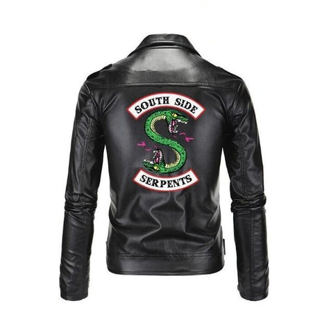 Veste Riverdale South Side Serpents en simili cuir - Homme