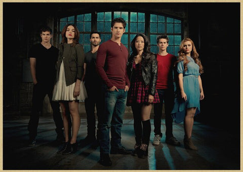 Poster Teen Wolf Personnages - 30x21cm