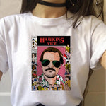 Tee Shirt Stranger Things Jim Hopper - M