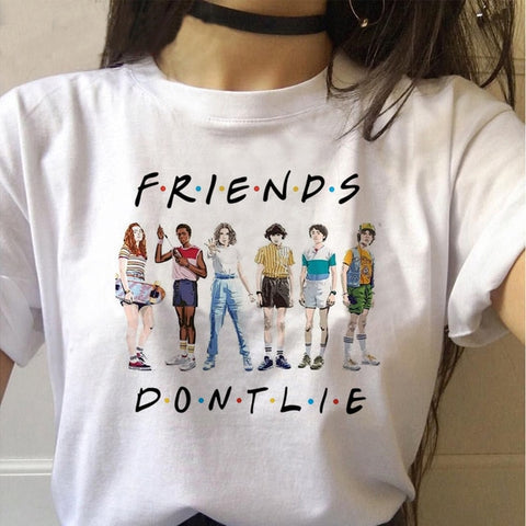Tee Shirt Stranger Things Friends - XXL
