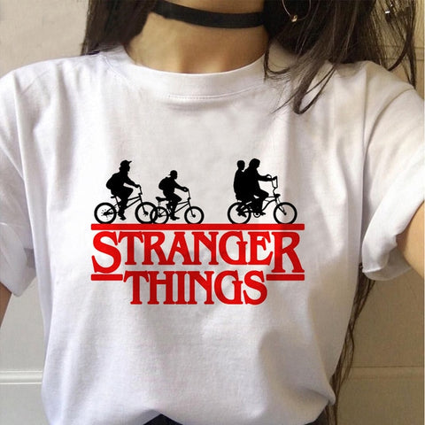 Tee Shirt Stranger Things Logo - XL