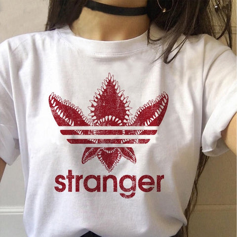 Tee Shirt Stranger Things Stranger Adidas - XXL